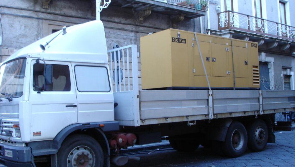 CGS RentCar noleggio Gruppo Elettrogeno Torre Faro