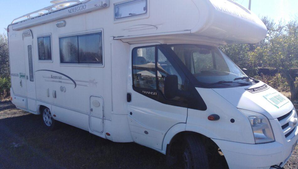 Camper Noleggio Catania Ford Transit Kentucky